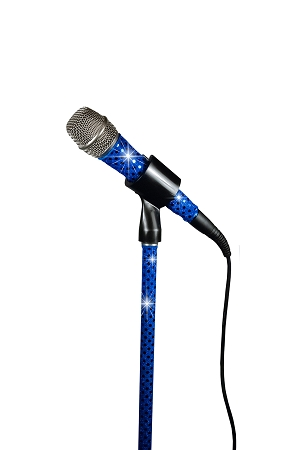 Blue Sensation Corded Stand Sleeve and Mic Sleeve Combo