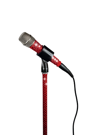 Red Sensation Corded Stand Sleeve and Mic Sleeve Combo