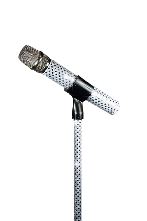 White Sensation Wireless Stand Sleeve and Mic Sleeve Combo